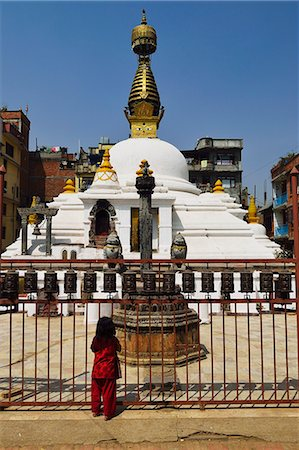 Stupa at Patan, UNESCO World Heritage Site, Bagmati, Central Region (Madhyamanchal), Nepal, Asia Stock Photo - Rights-Managed, Code: 841-06446543