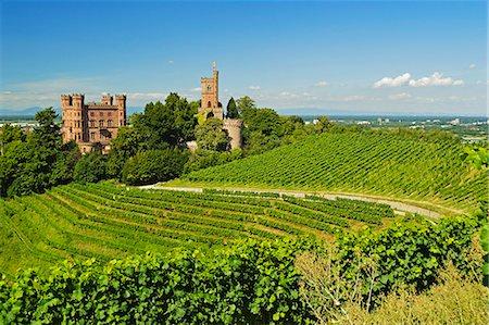 Ortenberg Castle, Ortenberg, Ortenau, Baden-Wurttemberg, Germany, Europe Stock Photo - Rights-Managed, Code: 841-06446747