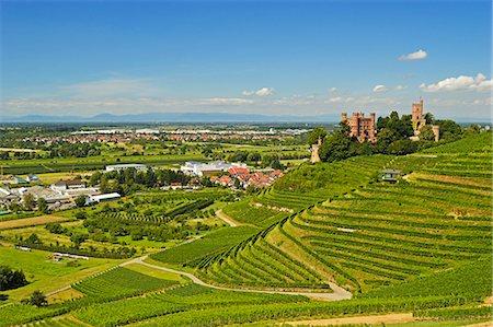 Ortenberg Castle, Ortenberg, Ortenau, Baden-Wurttemberg, Germany, Europe Stock Photo - Rights-Managed, Code: 841-06446748
