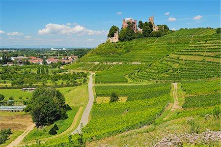 Ortenberg Castle, Ortenberg, Ortenau, Baden-Wurttemberg, Germany, Europe Stock Photo - Rights-Managed, Code: 841-06446749