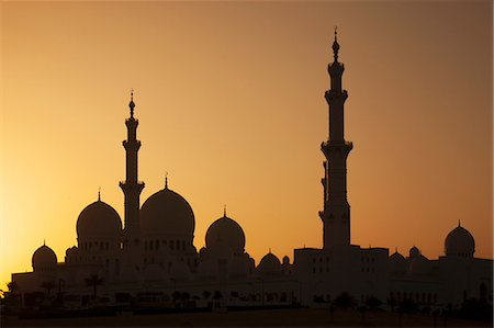 Sheikh Zayed Mosque, Abu Dhabi, United Arab Emirates, Middle East Stock Photo - Rights-Managed, Code: 841-06446978