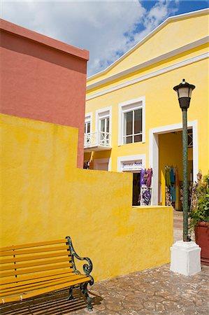 Mercado De Artesanias in Plaza del Sol, San Miguel City, Cozumel Island, Quintana Roo, Mexico, North America Stock Photo - Rights-Managed, Code: 841-06447139