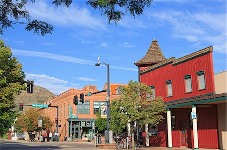 12th Street in Golden, Colorado, United States of America, North America Stock Photo - Rights-Managed, Code: 841-06447171