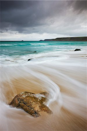 Stormy autumn evening at Sennen Cove, Cornwall, England, United Kingdom, Europe Stock Photo - Rights-Managed, Code: 841-06447430