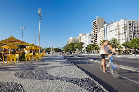 Avenida Atlantica, Copacabana, Rio de Janeiro, Brazil, South America Stock Photo - Rights-Managed, Code: 841-06447629