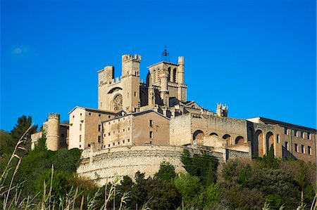 france - Cathedral Saint-Nazaire, Beziers, Herault, Languedoc, France, Europe Stock Photo - Rights-Managed, Code: 841-06448554