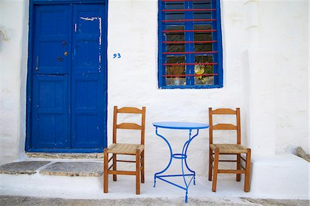 Langada village, Amorgos, Cyclades, Aegean, Greek Islands, Greece, Europe Stock Photo - Rights-Managed, Code: 841-06448596