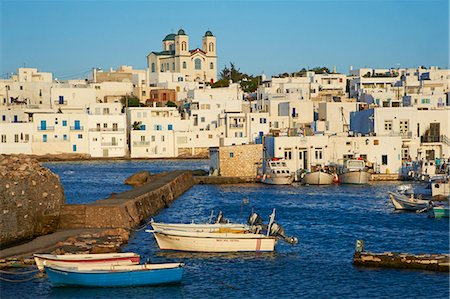 Port, Naoussa, Paros, Cyclades, Aegean, Greek Islands, Greece, Europe Stock Photo - Rights-Managed, Code: 841-06448620