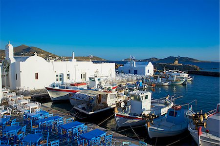 Port, Naoussa, Paros, Cyclades, Aegean, Greek Islands, Greece, Europe Stock Photo - Rights-Managed, Code: 841-06448623