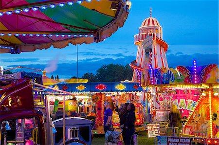 Helter Skelter, Goose Fair, Nottingham, Nottinghamshire, England, United Kingdom, Europe Stock Photo - Rights-Managed, Code: 841-06448923