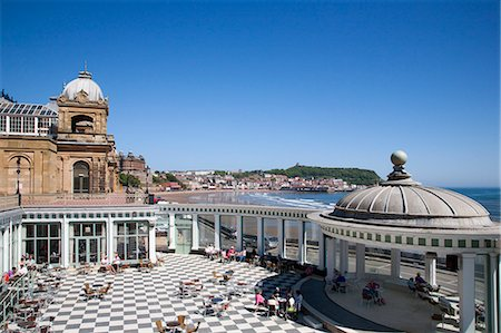 The Sun Court at the Spa Complex ,Scarborough, North Yorkshire, Yorkshire, England, United Kingdom, Europe Stock Photo - Rights-Managed, Code: 841-06449073