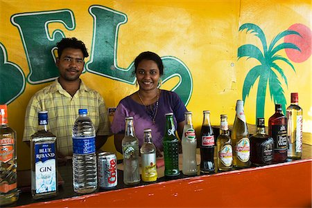 Beach Bar, Benaulim, Goa, India, Asia Stock Photo - Rights-Managed, Code: 841-06449385