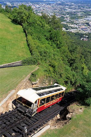 Incline Railway on Lookout Mountain, Chattanooga, Tennessee, United States of America, North America Stock Photo - Rights-Managed, Code: 841-06500898