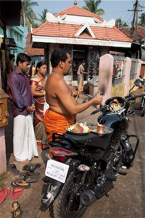fat man full body - Priest blessing a new motorcycle outside a temple in Kochi (Cochin), Kerala, India, Asia Stock Photo - Rights-Managed, Code: 841-06500997