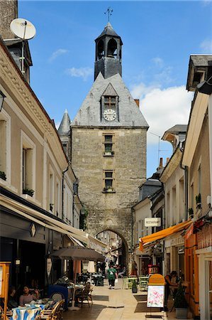 Old Town Gate, Amboise, UNESCO World Heritage Site, Indre-et-Loire, Centre, France, Europe Stock Photo - Rights-Managed, Code: 841-06501089