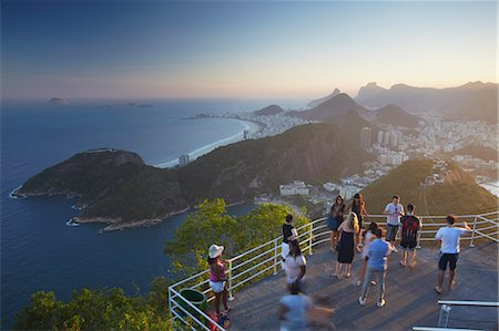 south american woman - Tourists at Sugar Loaf Mountain (Pao de Acucar), Rio de Janeiro, Brazil, South America Stock Photo - Rights-Managed, Code: 841-06501550