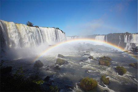 rainbow - Iguacu Falls, Iguacu National Park, UNESCO World Heritage Site, Parana, Brazil, South America Stock Photo - Rights-Managed, Code: 841-06501568