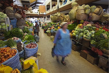 south american woman - Woman walking through market, Sucre, UNESCO World Heritage Site, Bolivia, South America Stock Photo - Rights-Managed, Code: 841-06501624