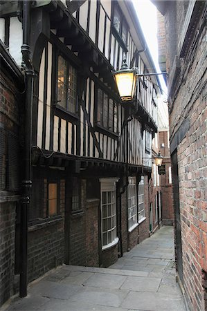 quaint - Lady Peckett's Yard, York, Yorkshire, England, United Kingdom, Europe Stock Photo - Rights-Managed, Code: 841-06502000