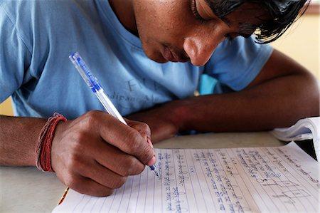 Sandipani Muni high school student, Vrindavan, Uttar Pradesh, India, Asia Stock Photo - Rights-Managed, Code: 841-06502180