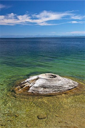 Fishing Cone, West Thumb Geyser Basin, Yellowstone National Park, UNESCO World Heritage Site, Wyoming, United States of America, North America Stock Photo - Rights-Managed, Code: 841-06502660