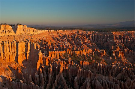Sunrise from Bryce Point, Bryce Canyon National Park, Utah, United States of America, North America Stock Photo - Rights-Managed, Code: 841-06502777