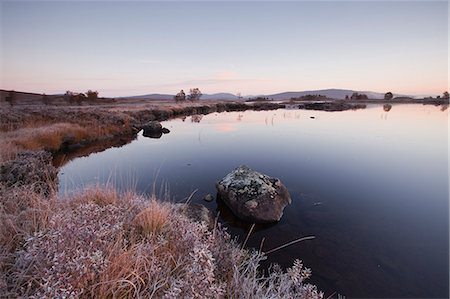 Loch Ba on a frosty morning at Rannoch Moor, a Site of Special Scientific Interest, Perth and Kinross, Highlands, Scotland, United Kingdom, Europe Stock Photo - Rights-Managed, Code: 841-06503277