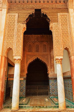 Saadian Tombs, Medina, Marrakesh, Morocco, North Africa, Africa Stock Photo - Rights-Managed, Code: 841-06616479