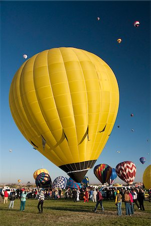 The 2012 Balloon Fiesta, Albuquerque, New Mexico, United States of America, North America Stock Photo - Rights-Managed, Code: 841-06616619
