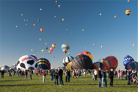 The 2012 Balloon Fiesta, Albuquerque, New Mexico, United States of America, North America Stock Photo - Rights-Managed, Code: 841-06616620