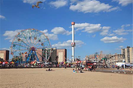 Coney Island, Brooklyn, New York City, United States of America, North America Stock Photo - Rights-Managed, Code: 841-06616647