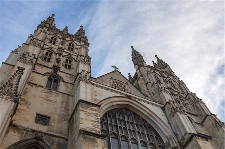 Canterbury Cathedral, UNESCO World Heritage Site, Canterbury, Kent, England, United Kingdom, Europe Stock Photo - Rights-Managed, Code: 841-06804375