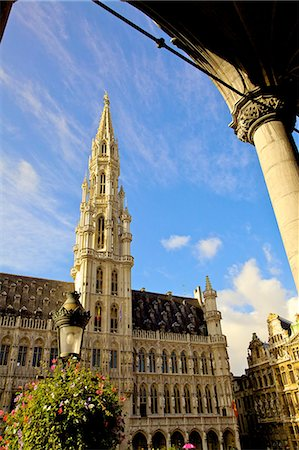 placing - Grand Place, UNESCO World Heritage Site, Brussels, Belgium, Europe Stock Photo - Rights-Managed, Code: 841-06805253