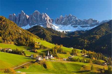 St. Magdalena, Val di Funes, Trentino-Alto Adige, Dolomites, South Tyrol, Italy, Europe Stock Photo - Rights-Managed, Code: 841-06805548
