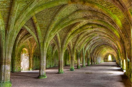 The Cellarium, Fountains Abbey, UNESCO World Heritage Site, North Yorkshire, Yorkshire, England, United Kingdom, Europe Stock Photo - Rights-Managed, Code: 841-06805570