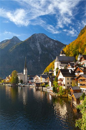 Hallstatt, UNESCO World Heritage Site, Salzkammergut, Austria, Europe Stock Photo - Rights-Managed, Code: 841-06805598