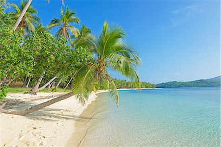 Tropical beach, Nanuya Lailai Island, Yasawa island group, Fiji, South Pacific islands, Pacific Stock Photo - Rights-Managed, Code: 841-06805841