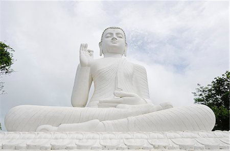The Great seated Buddha at Mihintale, Sri Lanka, Asia Stock Photo - Rights-Managed, Code: 841-06806015