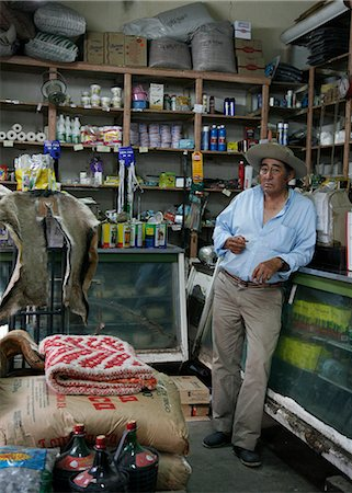 people in argentina - Man at a local grocery shop in Cafayate, Salta Province, Argentina, South America Stock Photo - Rights-Managed, Code: 841-06806179