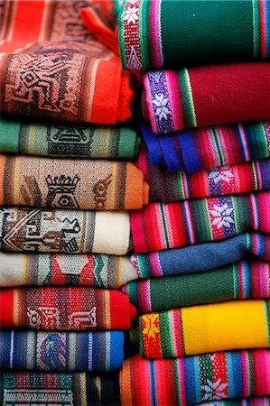 supermarket not people - Local carpets made of llama and alpaca wool for sale at the market in Purmamarca, Quebrada de Humahuaca, Jujuy Province, Argentina, South America Stock Photo - Rights-Managed, Code: 841-06806218