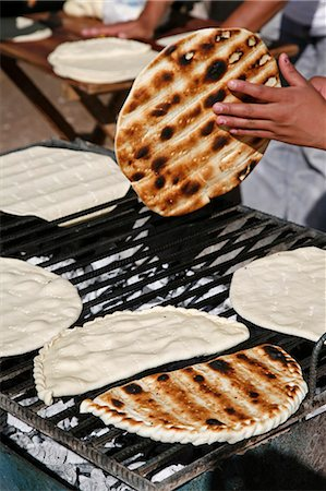people in argentina - Torta Asada bread, Humahuaca, Quebrada de Humahuaca, Jujuy Province, Argentina, South America Stock Photo - Rights-Managed, Code: 841-06806225
