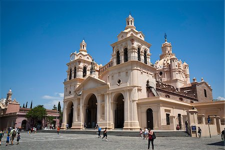 people in argentina - Iglesia Catedral at Plaza San Martin, Cordoba City, Cordoba Province, Argentina, South America, South America Stock Photo - Rights-Managed, Code: 841-06806245