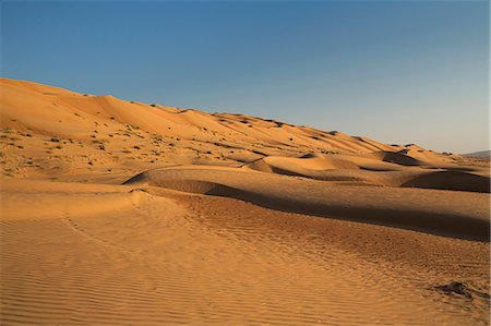 extreme terrain - Wahiba Sand Dunes, Oman, Middle East Stock Photo - Rights-Managed, Code: 841-06806501