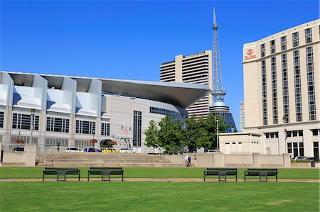 places - Bridgestone Arena, Nashville, Tennessee, United States of America, North America Stock Photo - Rights-Managed, Code: 841-06806544
