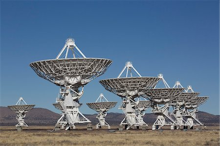 radio telescope - The Very Large Array, New Mexico, United States of America, North America Stock Photo - Rights-Managed, Code: 841-06806785