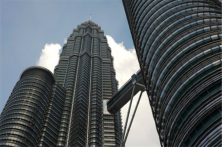 Petronas Twin Towers, Kuala Lumpur, Malaysia, Southeast Asia, Asia Stock Photo - Rights-Managed, Code: 841-06806929