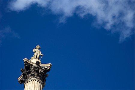 pillar - Nelson's Column, Trafalgar Square, London, England, United Kingdom, Europe Stock Photo - Rights-Managed, Code: 841-06807533