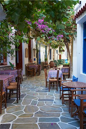 Driopida, ancient village, Kythnos, Cyclades, Greek Islands, Greece, Europe Stock Photo - Rights-Managed, Code: 841-06807613