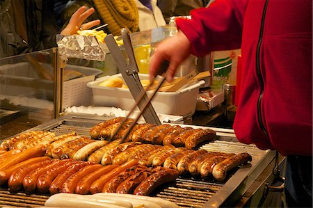 food stalls - Hot dog stall, Christmas Market, Munster, North Rhine-Westphalia, Germany, Europe Stock Photo - Rights-Managed, Code: 841-06807677