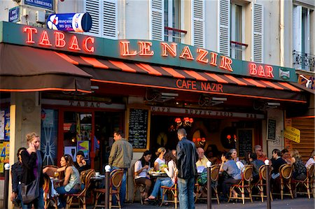 Outdoor Restaurant in Montmartre, Paris, France, Europe Stock Photo - Rights-Managed, Code: 841-07081182